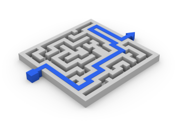 Maze Puzzle (Blender). FutUndBiedl on Flikr. https://www.flickr.com/photos/61423903@N06/7369580478