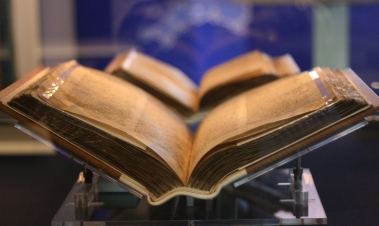 Domesday Books. Andrew Barclay on Flikr. https://www.flickr.com/photos/electropod/3167236184