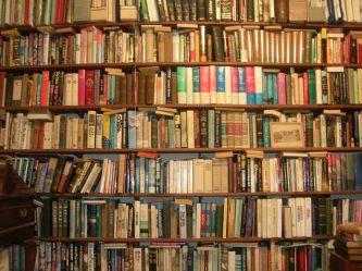Wall of Books. Benuski on Flikr. https://www.flickr.com/photos/benuski/3502143020