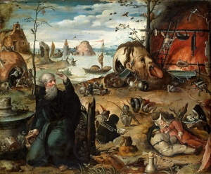 Jan Mandyn - The Temptation of Saint Anthony. Gandlaf's gallery on Flikr. https://www.flickr.com/photos/gandalfsgallery/8957437848