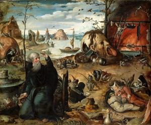 Jan Mandyn - The Temptation of Saint Anthony. Gandlaf's gallery on Flikr. https://www.flickr.com/photos/gandalfsgallery/8957437848