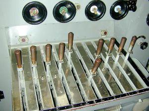 Propulsion control levers. Dawn Endico on Flikr. https://www.flickr.com/photos/candiedwomanire/3010058