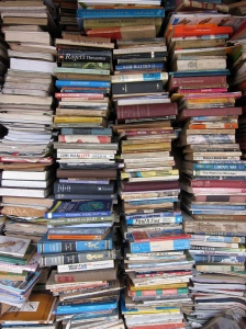 Stack of books. Indi Samarajiva on Flikr. https://www.flickr.com/photos/indi/4259120807